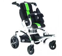 Детская прогулочная коляска Patron Tom 5 Streeter (T5SWKPMYY) черный/зеленый (белый)