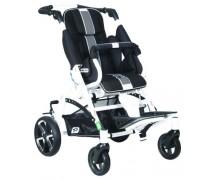 Детская прогулочная коляска Patron Tom 5 Streeter (T5SWKPMYY) черный/графит (белый)
