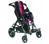 Детская прогулочная коляска Patron Tom 5 Streeter (T5SWKPMYY) черный/розовый (антрацит)