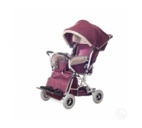 Кресло-коляска инвалидная детская Василиса 1 размер (литые колеса)