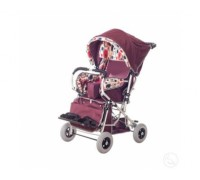 Кресло-коляска инвалидная детская Василиса 2 размер (пневматические колеса)