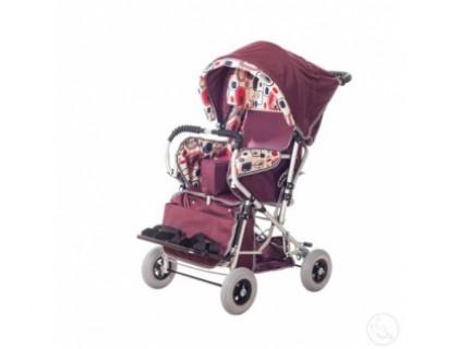 Кресло-коляска инвалидная детская Василиса 2 размер (литые колеса)