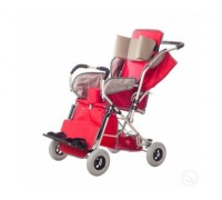 Кресло-коляска Катаржина Василиса 3 размер с расширением сидением (литые колеса)