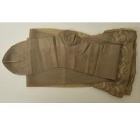 Чулки компрессионные с закрытым носком Ergoforma EU 202 (бронза)