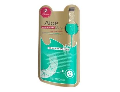 Маска для лица с экстрактом алоэ US MEDICA Aloe Mask (упаковка 10 штук)