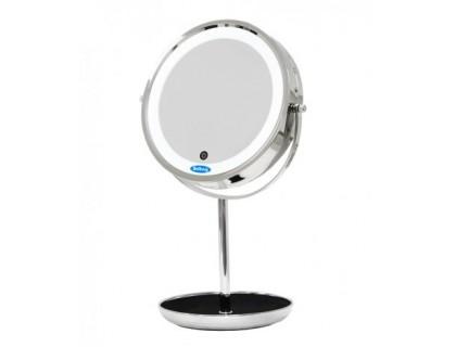 Зеркало косметическое с подсветкой Belberg BZ-05 (с 10-ти кратным увеличением)