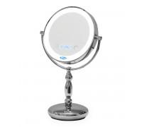 Зеркало косметическое Belberg BZ-06 с подсветкой и встроенными часами