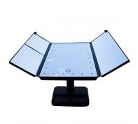 Зеркало настольное uLike с подсветкой раскладное GESS-805