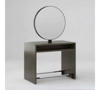 Зеркало парикмахерское Crocus Duo (Морское Дерево Карбон + Черный металл) Karat