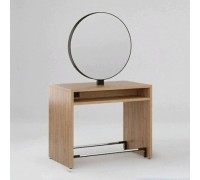 Зеркало парикмахерское Crocus Duo (Орех Селект + Черный металл) Karat