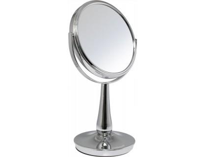 Зеркало настольное косметическое BIC-0936F (195450) 2-стороннее, 5-кратное увеличение, d =17см