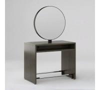 Зеркало парикмахерское Crocus (Морское Дерево Карбон + Черный металл) Karat