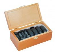 Камни для стоун терапии (базальт) НК-4Б (20 шт)
