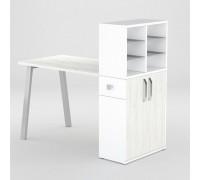 Маникюрный стол FORMIX (12889) Дуб крафт белый / Белый снег