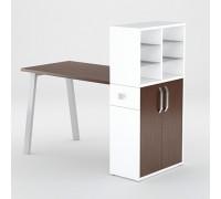 Маникюрный стол FORMIX (12889) Файнлайн Мокка / Белый снег