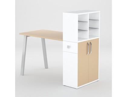 Маникюрный стол FORMIX (12889) Макиато / Белый снег
