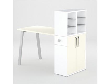 Маникюрный стол FORMIX (12889) Ваниль / Белый снег