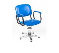 Кресло парикмахерское КОНТАКТ (гидравлика, 5-тилучье хром)