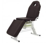 Кресло косметолог. Мед-Мос FIX-1B (SS3.02.11Д-01) кремовый +стул массажиста МА02 (V) кофе с молоком