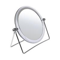 Зеркало HIC-1041A-1A настольное круглое 2-стороннее 2-кр. увеличение d=12 см (195452)