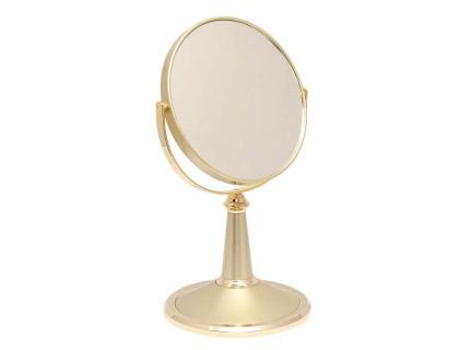 Зеркало настольное косметическое Weisen Gold 53278
