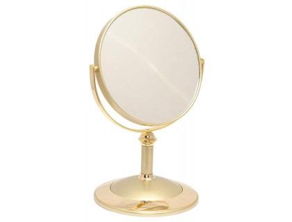 Настольное косметическое зеркало Weisen Gold 53848