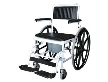 Кресло-каталка инвалидная с туалетным устройством 5019W24