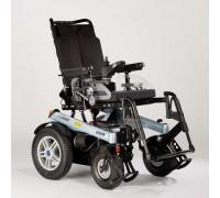 Кресло-коляска Отто Бокк B500 с электроприводом, цвет рамы-голубой металлик