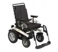 Кресло-коляска Отто Бокк B500 с электроприводом, цвет рамы-серебристый металлик
