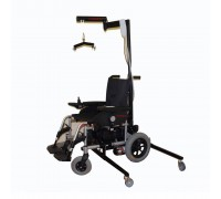 Кресло-коляска электрическая инвалидная со встроенным устройством для пересаживания SAVVA CLOU