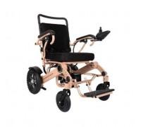 Кресло-коляска электр. MET Compact 35 (REPOW Power Wheel Chair-T610A MT-C35) цвет рамы розовый