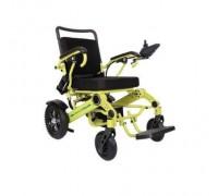 Кресло-коляска электр. MET Compact 35 (REPOW Power Wheel Chair-T610A MT-C35) цвет рамы зеленый