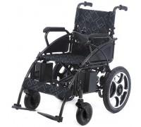 Кресло-коляска электрическая MET START 610 (16236) с откидными подлокотниками, складная