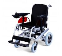 Кресло-коляска электр. МЕТ ROUTE 14 (ширина сиденья 43 см) с амортизирующей подвеской (16475)