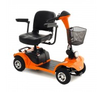 Кресло-коляска скутер с электроприводом Explorer MT-14 (скутер Explorer) (16826) цвет оранжевый