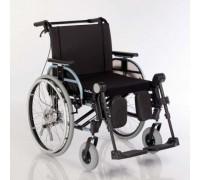 Кресло-коляска прогулочная Отто Бокк Старт XXL серебристый металлик (пневмо колеса)
