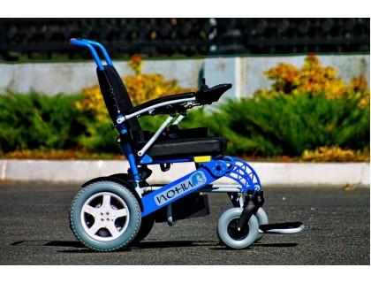 Кресло-коляска электрическая ПОНИ 5-1РУ (38см)