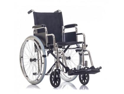 Кресло-коляска Ortonica BASE 130 PU хром.рама