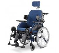 Кресло-коляска механическая синяя Meyra 2.250 MOTIVO (ширина 48 см)