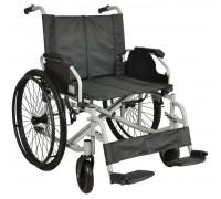 Кресло-коляска (ММ) FS209AE-61(МК-009/60) механическая стальная