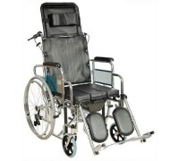 Кресло-коляска (ММ) FS204BJG (MK-C010-46 с ручным тормозом)