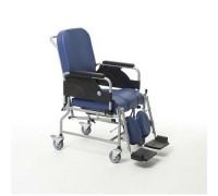 Кресло-коляска с санитарным оснащением пассивная на колесах 9303