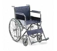 Кресло-коляска (ММ) FS901механическая стальная (кожзам) (ширина 41, 46 см)