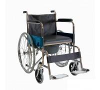 Кресло-коляска Оптим FS681-45 с санит. (ширина сиденья 43 см)