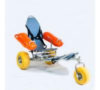 Кресло-коляска инвалидная пляжная Оптим Модель BW-100 TRITON
