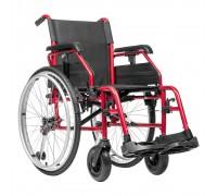 """Кресло-коляска Ortonica BASE 160 AL (Base 190 new) 17"""" PU (43 см), алюмин.рама"""