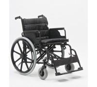 Кресло-коляска (ММ) FS951B-56 механическая стальная