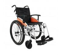Кресло-коляска Excel G-Lite Pro (45 см) задние колёса пневмо, широкие, с глубоким протектором