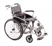 Кресло-коляска механическая МЕТ 962 (17016) (ширина сид. 45 см) с туалетным оснащением