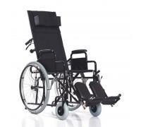 Кресло-коляска Xeryus 120 (40 см) пневмо колеса, с откидной спинкой